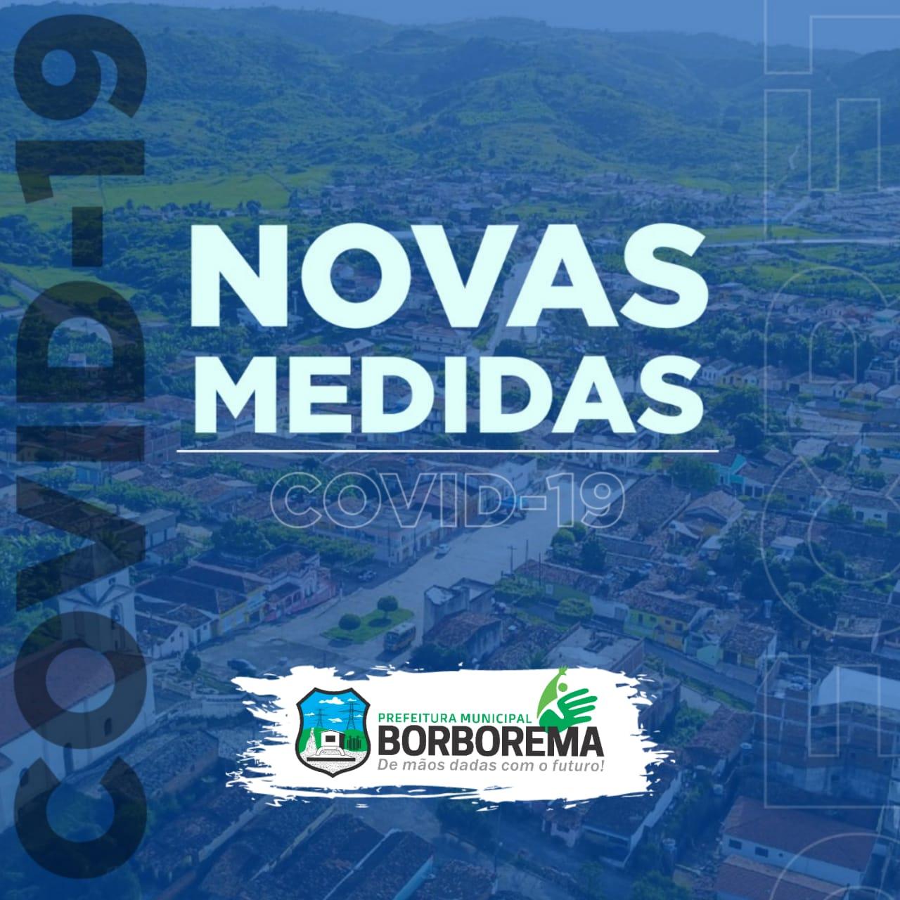 Prefeitura emite Decreto sobre novas medidas a serem adotadas para a prevenção ao contágio da Covid-19