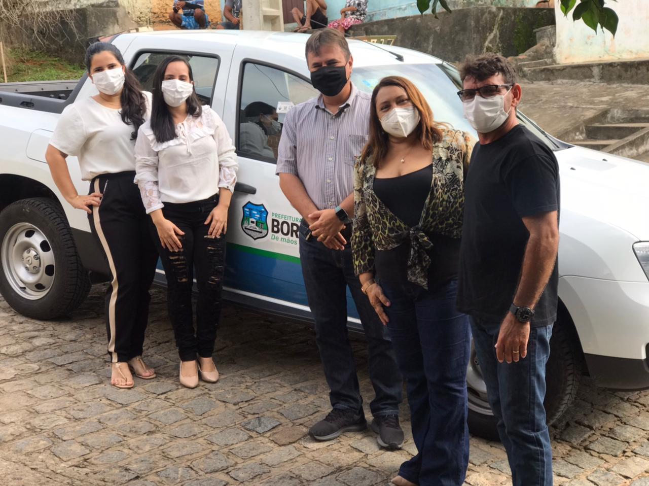 Prefeitura de Borborema adquire mais um veículo 0km para servir à população do município