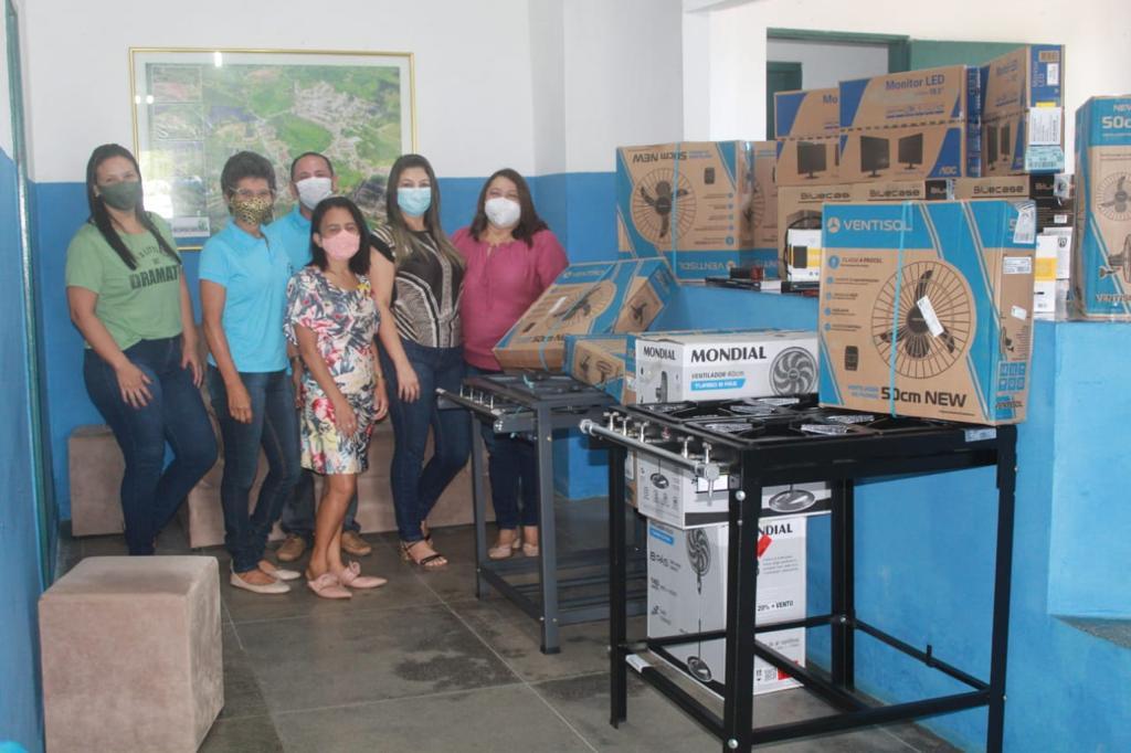 Prefeitura de Borborema faz compra de novos equipamentos para as escolas da rede municipal