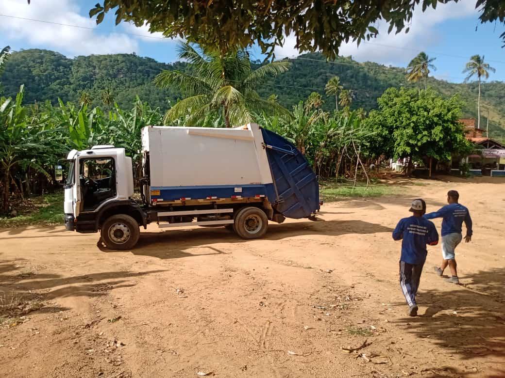 Secretaria de Infraestrutura e Meio Ambiente inicia coleta seletiva na zona rural do município