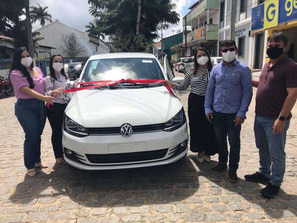 Prefeitura de Borborema adquire mais um veículo 0km para o município