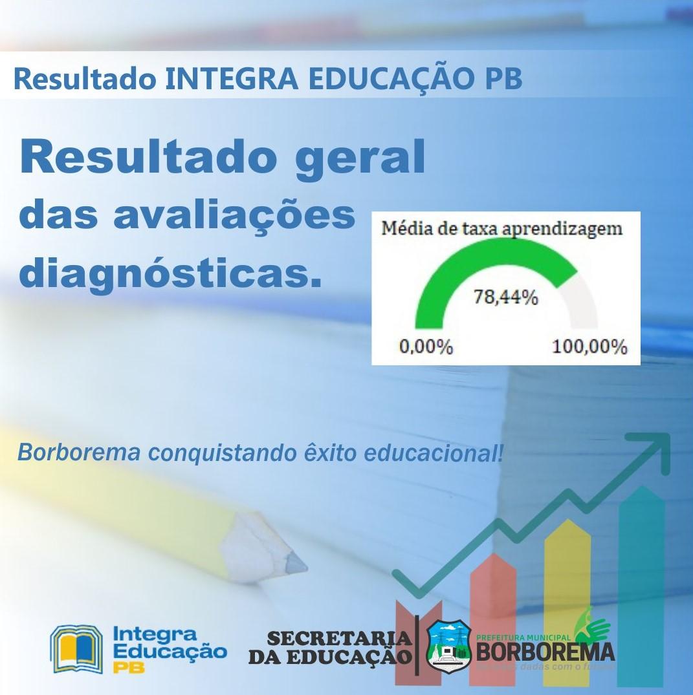 Educação de Borborema atinge 78,44% na Avaliação do Programa Integra Educação PB