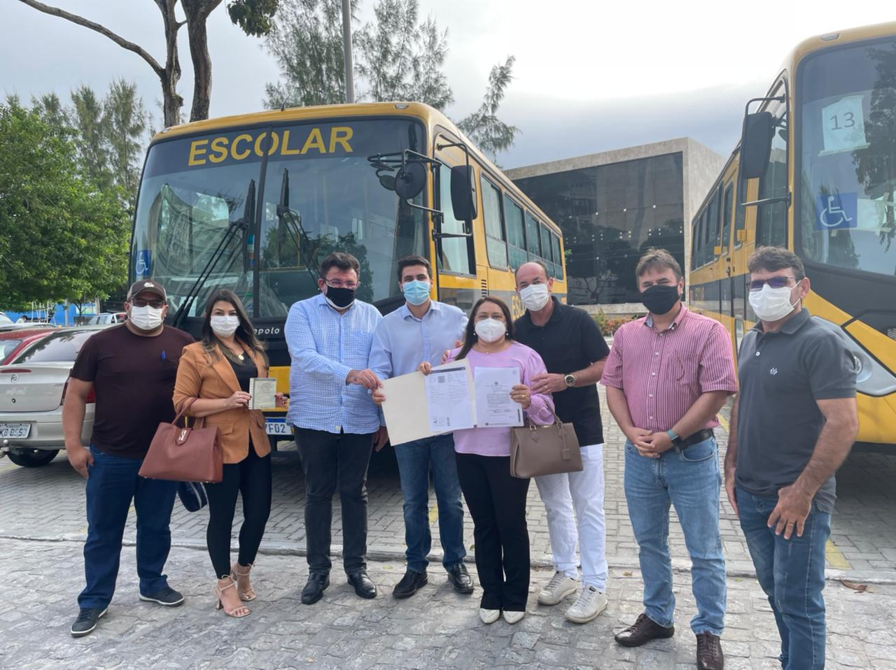 O município de Borborema é contemplado com um Ônibus Escolar 0km