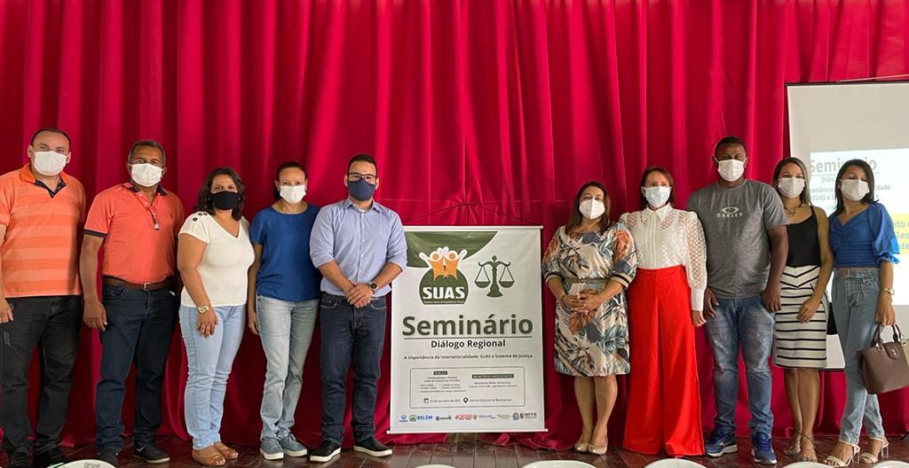 Representantes de Borborema participam do Seminário Diálogo Regional, realizado no município de Bananeiras